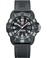 Luminox - 44mm Sea Series Coronado 3021 Watch Silver - Lyst