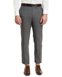 Incotex | Super 150s Wool Flat-front Trousers | Lyst
