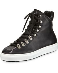DSquared² - Whistler High-top Leather Sneaker - Lyst