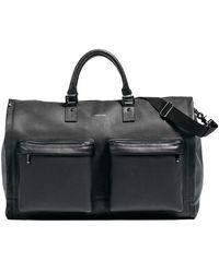 Hook + Albert | Leather Garment Weekender Bag | Lyst