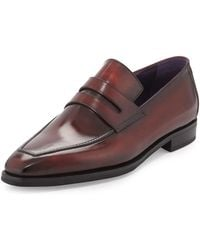 Berluti - Andy Burnished Leather Loafer - Lyst