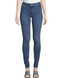 DL1961 - Danny Mid-rise Instasculpt Skinny Jeans - Lyst