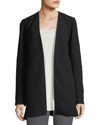 Eileen Fisher - Geometry Textured Jacket - Lyst