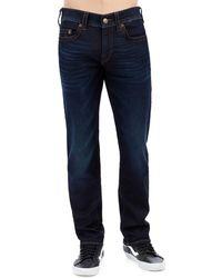 True Religion - Men's Geno Blue Night Jeans - Lyst