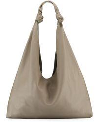 1ea758778359d The Row Ladies Black Timeless Bindle Nylon Shoulder Bag in Black - Lyst