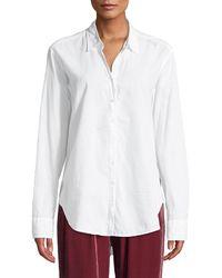 Xirena - Beau Cotton Lounge Shirt - Lyst