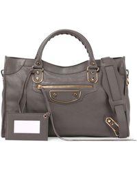 Balenciaga | Metallic Edge Classic City Leather Tote Bag | Lyst