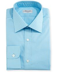 Charvet - Mini-check Dress Shirt - Lyst
