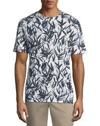 Theory - Men's Graphic Pinal Linen Jersey T-shirt - Lyst