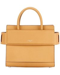 Givenchy - Horizon Mini Grained Leather Tote Bag - Lyst
