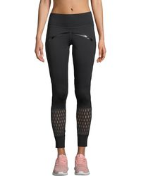 adidas By Stella McCartney - Believe This High-rise Mesh Training Tights - Lyst