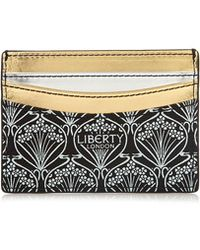 Liberty | Stars Fabric Metallic Card Case | Lyst