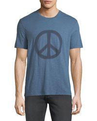 John Varvatos - Men's Peace Symbol Graphic T-shirt - Lyst