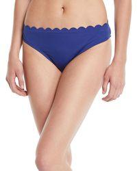 La Blanca - Petal Scalloped Hipster Bikini Bottoms - Lyst