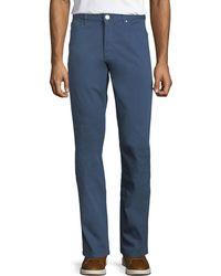 Ermenegildo Zegna - Casual Garment-dyed Five-pocket Pants - Lyst