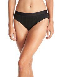 Athena - Fine Line Banded Hipster Swim Bikini Bottom - Lyst
