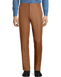 Vince | Linen-blend Tapered-leg Trousers | Lyst