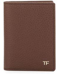 Tom Ford - Folded Calfskin Credit Card Case - Lyst