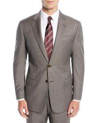 Emporio Armani - Men's Micro-textured Two-piece Suit - Lyst