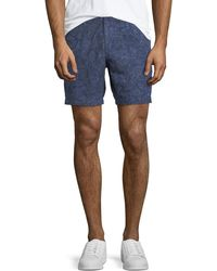 Michael Kors - Men's Printed Linen Shorts - Lyst
