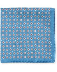 Eton of Sweden - Neat Silk Pocket Square - Lyst