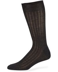 Neiman Marcus - Men's Mid-calf Cashmere Dress Socks - Lyst
