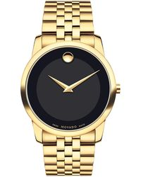 Movado - 40mm Museum Classic Watch - Lyst