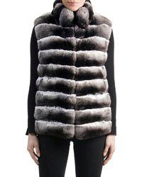 Gorski - Chinchilla Fur Vest - Lyst