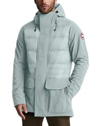755447bd802 Canada Goose Hendriksen Quilted Shell-down Coat in Green for Men - Lyst