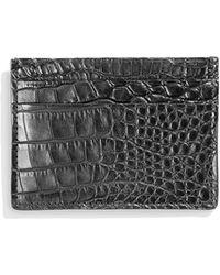 Shinola - Men's Alligator Card Case - Lyst
