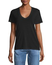 AG Jeans - Henson V-neck Cotton Tee - Lyst