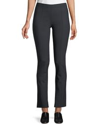 The Row - Doco Fitted Straight-leg Stretch-wool Pants - Lyst