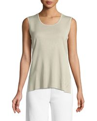 Misook - Knit Scoop-neck Tank Top - Lyst