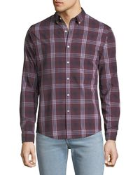 Michael Kors - Men's Abner Plaid Slim Sport Shirt - Lyst