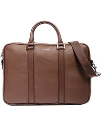 Hook + Albert Formal Leather Briefcase