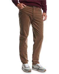 Brunello Cucinelli - Men's 5-pocket Fine-wale Corduroy Pants - Lyst