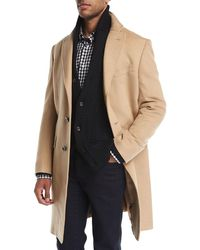 Neiman Marcus   Cashmere Single-breasted Top Coat   Lyst