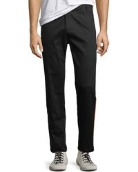 Ovadia And Sons - Slim Side-stripe Pants - Lyst