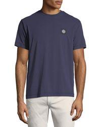 Stone Island - Men's Classic Crewneck T-shirt - Lyst