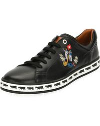 Bally - Men's Anistern 10 Leather Low-top Sneakers - Lyst