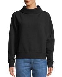 Varley - Simon Ribbed Side-zip Sweater - Lyst