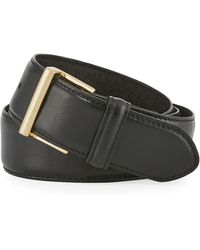 FRAME - Classic Leather Belt - Lyst