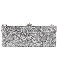 Edie Parker - Flavia Solid Frame Clutch Bag - Lyst