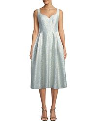 JILL Jill Stuart - Virginia Sweetheart Jacquard Midi Dress - Lyst