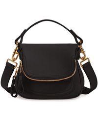 Tom Ford - Jennifer Mini Grained Leather Shoulder Bag - Lyst