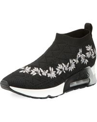 Ash | Lolita Embroidered Slip-on Sneaker | Lyst
