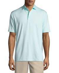 Peter Millar - Solid Jersey Polo Shirt - Lyst