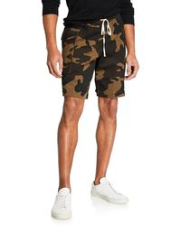 Ovadia And Sons - Men's Utility Camo Cargo Shorts - Lyst