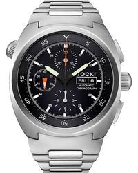 Tockr Watches - Air Defender Chronograph Stainless Steel Watch - Lyst