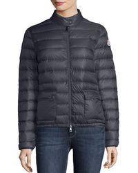 8da6d6c8ea92 Lyst - Women s Moncler Jackets - Denim Jackets